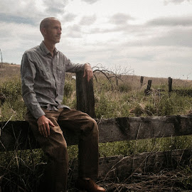 No Country for Old Men by Brett Toomey - Instagram & Mobile iPhone ( countryside, clouds, grass, iphone, rustic )