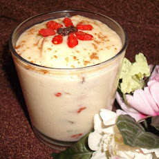 Goji Berry Rice Pudding