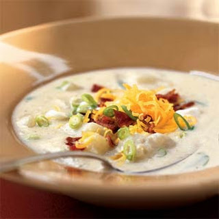 Creamy Potato Soup to Warm You Up!