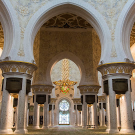 Prayer Hall at Sheikh Zayed Grand Mosque by Sarita Jithin - Buildings & Architecture Places of Worship