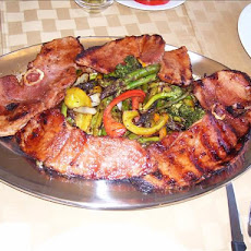 Grilled Ham With Glaze