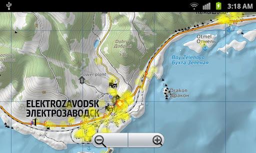 DayZ Offline Map