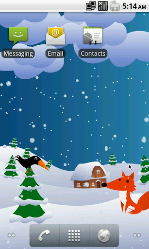 Interactive Winter Forest