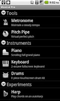 Screenshot of Musical Pro