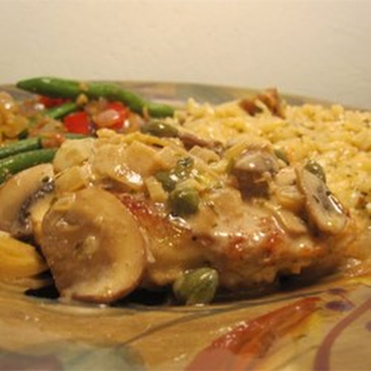 Romantic Chicken with Artichokes and Mushrooms Recipe | Yummly