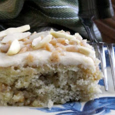 Banana Toffee Bars W/ Browned Butter Icing