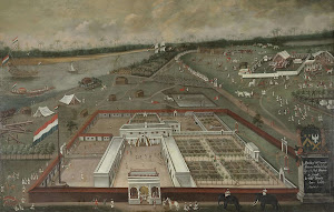 RIJKS: Hendrik van Schuylenburgh: The Trading Post of the Dutch East India Company in Hooghly, Bengal 1665