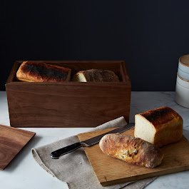 Walnut Bread Box