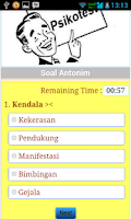 Screenshot of Tes Potensi Akademik