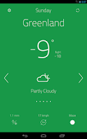 Screenshot of oWeather