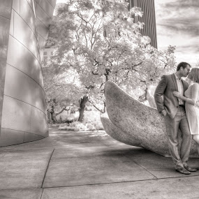 Our world filled with love. by Scott Nelson - People Couples ( infrared )