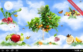 Screenshot of Sky Flowers HD Free