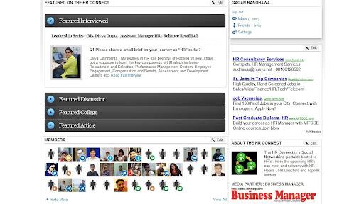 HR Social Network