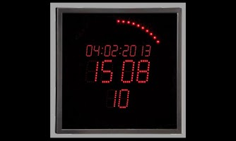 Screenshot of LED Ring Clock