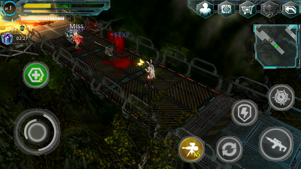 Alien Zone Plus Screenshot 4