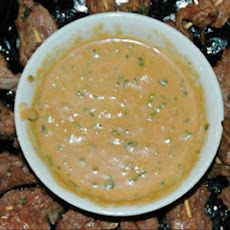 Peanut Dipping Sauce With a Kick
