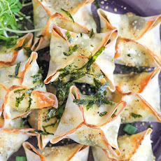 Baked Vegetable Wontons