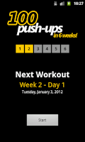 Screenshot of 100 Push-ups