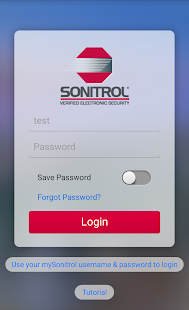 Sonitrol - screenshot