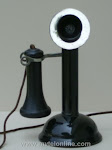 Candlestick Phones - Chicago Oil Can Base 1 Candlestick Telephone