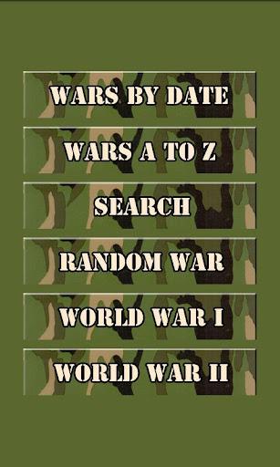 Encyclopedia: Wars and Battles