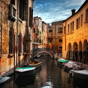 Streets of Venice by Vasja Pinzovski - Landscapes Travel