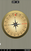 Screenshot of Accurate Compass