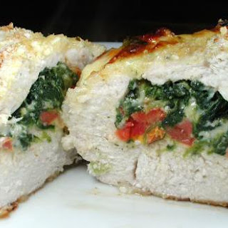 Spinach-Stuffed Chicken with Sun-Dried Tomatoes