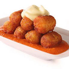 Potato Tots Bravas Recipe