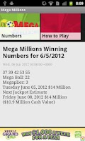 Screenshot of Idaho lottery numbers fromKTVB