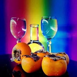 Persimmon by Janette Ho - Artistic Objects Still Life (  )