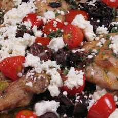 Greek Style Chicken Thighs