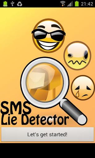 SMS Lie Detector