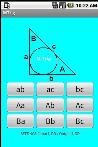 MTrig - Right Triangle Calc.