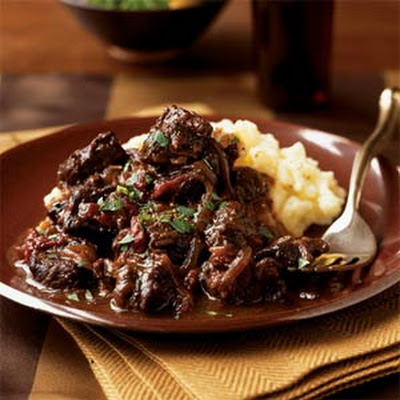 Braised Beef with Sun-Dried Tomatoes
