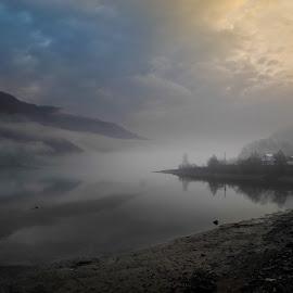 Lake Vidra Romania by Dorin Crisan - Landscapes Sunsets & Sunrises