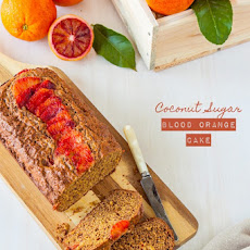 Coconut Sugar Blood Orange Cake