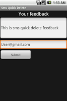 Screenshot of Super SMS Quick Delete