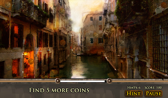 Screenshot of Hidden Object: Romantic Places