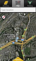 Screenshot of CSULA Maps