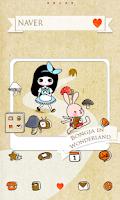 Screenshot of Alice Dodol launcher theme