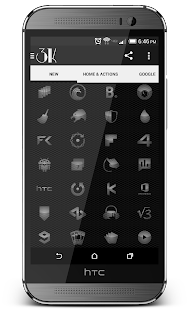 3K MNML Glass - Icon Pack - screenshot