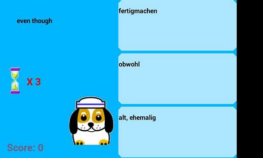 英語遊戲的德語單詞