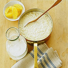 Creamy Orange Rice Pudding