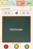 Screenshot of Easy Vocab