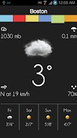 Screenshot of Stencil Weather LITE