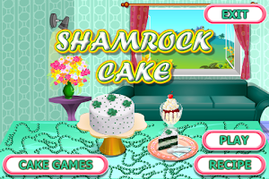 Screenshot of Shamrock Cake