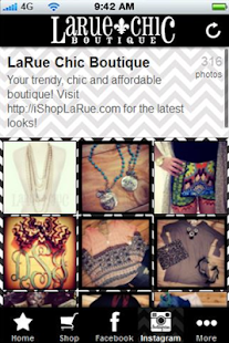 LaRue Chic Boutique - screenshot