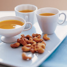 Orange Spiced Cashews
