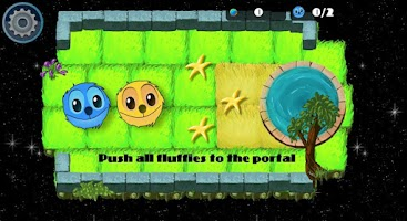 Screenshot of Push the Fluffies